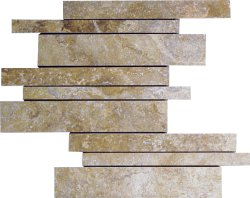 Marble Mosaic Travertine Noce Cultural Brick