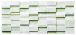 Great Wall Natural Stone Marble Green Opal 320x145 Sheet Honed Mosaic
