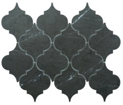 Arabesque Natural Stone Marble Persian Blue 250x210 Sheet Polished Mosaic