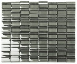 Great WallCrystal Glass Army Base Glossy  mosaic