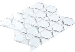 Space Crystal Glass WHITE|SILVER|PLATINUM|Mixed| Glossy  mosaic
