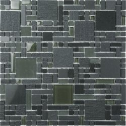 Duraglass Bluestone + ES57 Magic Mosaics