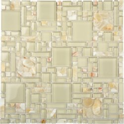 Aquastone Onyx Magic Glossy Mosaic