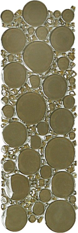 Bubbles Borders Crystal Glass Millennium Glossy Mosaic
