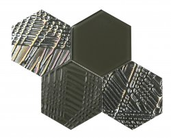 Heritage© Glass Mosaic Army Base Hexagon