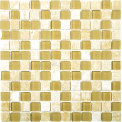 Glasstone Honey Onyx 25x25 mosaics