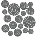 Pin Wheel Mosaic