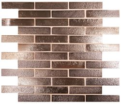 Vision Mosaic Brown 100x25