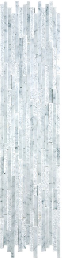Marble Mosaic Carrara Natural Split Plus