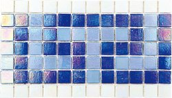 Pool Glass PIB-001A Border