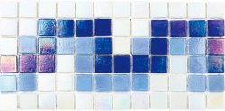 Pool Glass PIB-001B Border