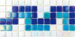 Pool Glass PIB-002B Border