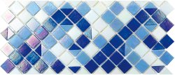 Pool Glass PIB-002C Border